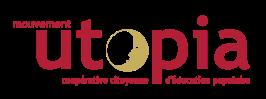 logo utopia 2016 - rouge-or